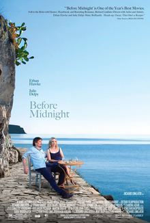 Poster for 2014 Oscars hopeful Before Midnight