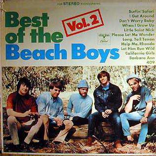 Best of The Beach Boys Vol. 2 artwork
