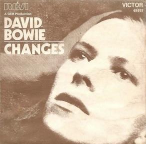 Titelbild des Gesangs Changes von David Bowie