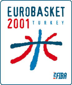 2001 edition of the Eurobasket