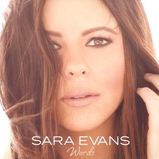 <i>Words</i> (Sara Evans album) 2017 studio album by Sara Evans