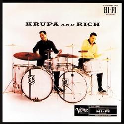 <i>Krupa and Rich</i> 1956 studio album by Gene Krupa, Buddy Rich