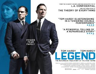 Legend - the story of the Krays on film