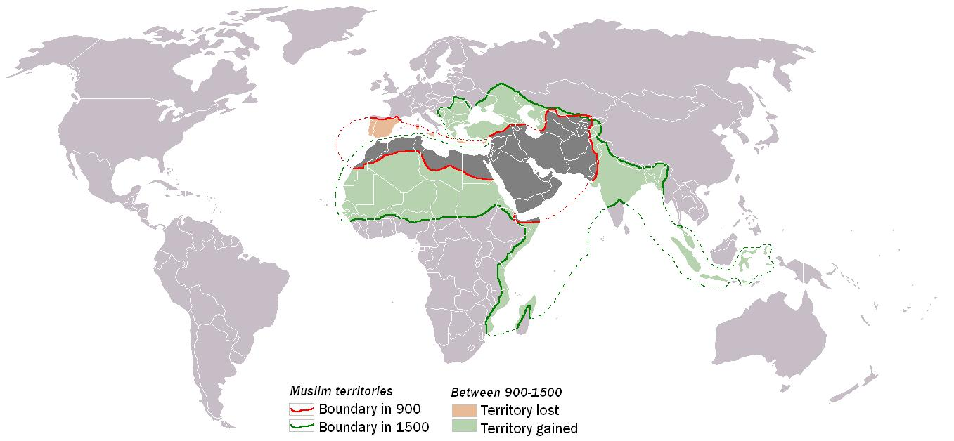 Picture of: File Muslim World 900 1500 Jpg Wikipedia