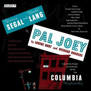 <i>Pal Joey</i> (musical) 1940 musical with book by John OHara and music and lyrics by Richard Rodgers and Lorenz Hart
