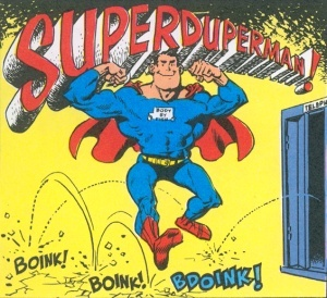 Superduperman parody superhero