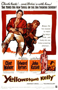 <i>Yellowstone Kelly</i> 1959 Warner Bros Western Technicolor movie directed by Gordon Douglas