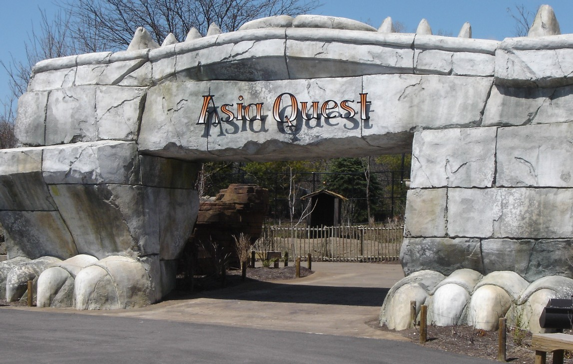 File Entrance To Asia Quest Columbus Zoo And Aquarium