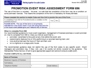 Care Home Risk Assessment Template