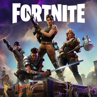 <i>Fortnite: Save the World</i> co-op sandbox survival game developed by Epic Games