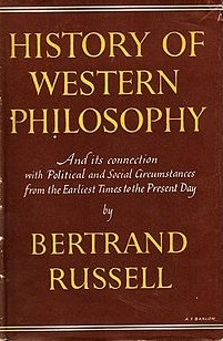 <i>A History of Western Philosophy</i> 1945 book by philosopher Bertrand Russell.
