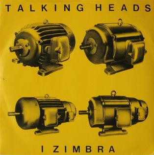I Zimbra 1980 song performed by Talking Heads