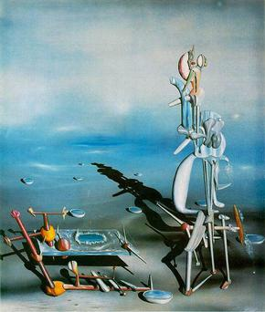 Yves Tanguy Indefinite Divisibility 1942, Albright Knox Art Gallery, Buffalo, New York Indefinite Divisibility.jpg