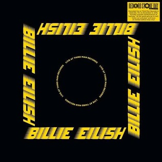 <i>Live at Third Man Records</i> (Billie Eilish album) 2020 live album by Billie Eilish