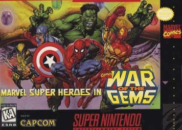 Marvel Super Heroes In War of the Gems - Wikipedia