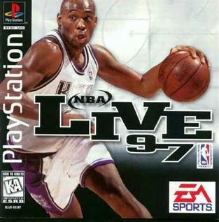 <i>NBA Live 97</i> 1996 basketball video game