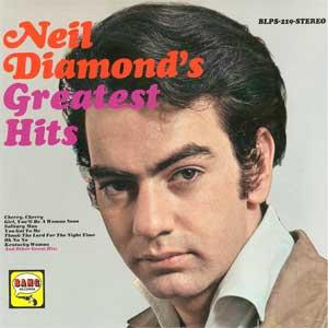 Neil Diamond's Greatest Hits artwork