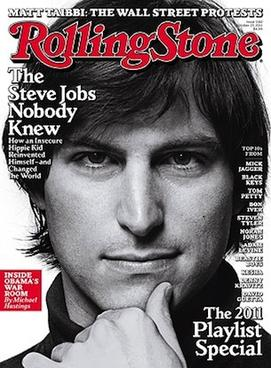 Steve Jobs on the cover of Rolling Stone
