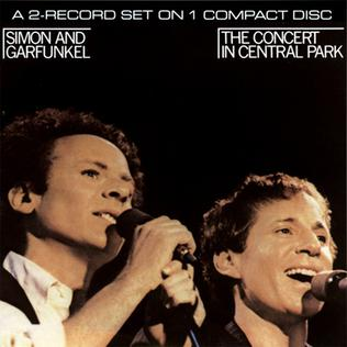 <i>The Concert in Central Park</i> 1982 live album by Simon & Garfunkel