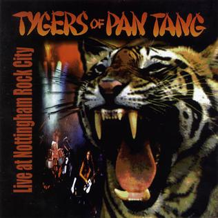 <i>Live at Nottingham Rock City</i> 2001 live album by Tygers of Pan Tang
