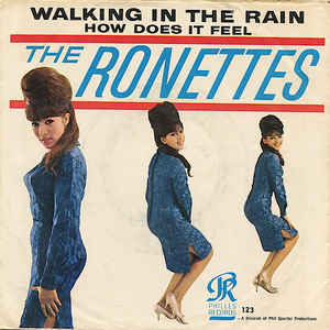 Walking in the Rain (The Ronettes song) song by The Ronettes