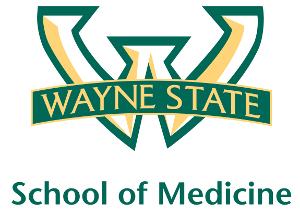Wayne State University School of Medicine logo, 2012.jpg