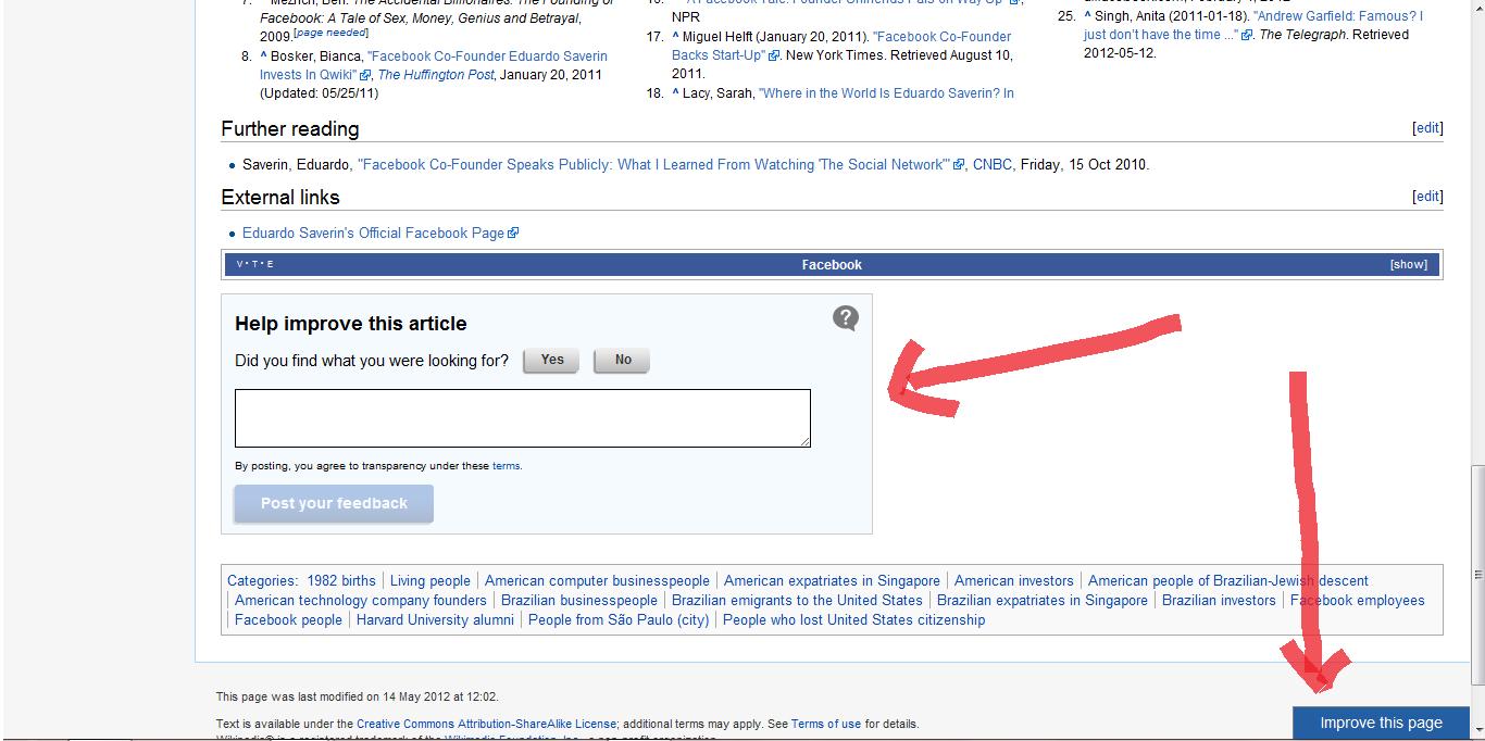 file wikipedia article feedback png wikipedia