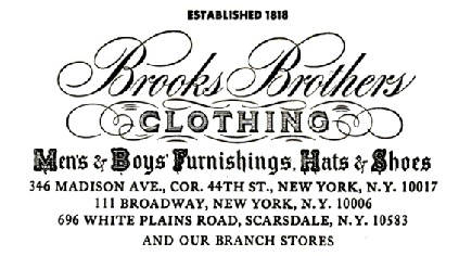 Brooks brothers wiki everipedia for Brooks brothers garland shirt factory