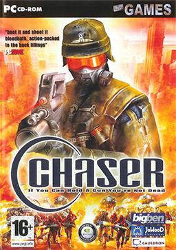 video games can be very additive, so and therefore you need to make sure that you simply moderate enough time you're simply spending playing such game titles. Chaser_Coverart