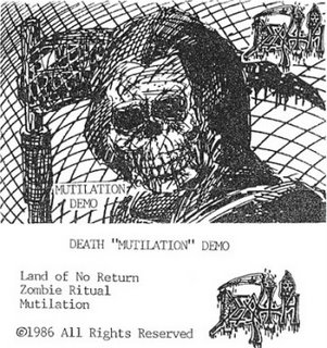 <i>Mutilation</i> (demo) album by Death