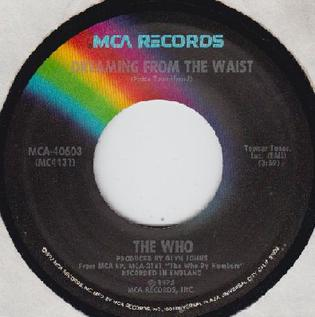 Dreaming from the Waist 1975 single by The Who