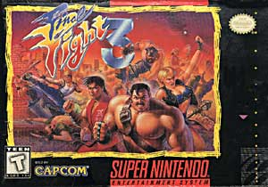 <i>Final Fight 3</i> 1995 SNES video game