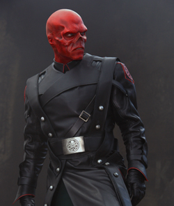 Hugo Weaving as The Red Skull in the 2011 film...