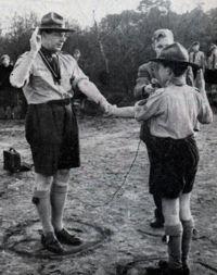 Jan Volkmaars Dutch scouting leader