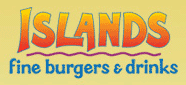 The official logo for Islands Fine Burgers & Drinks