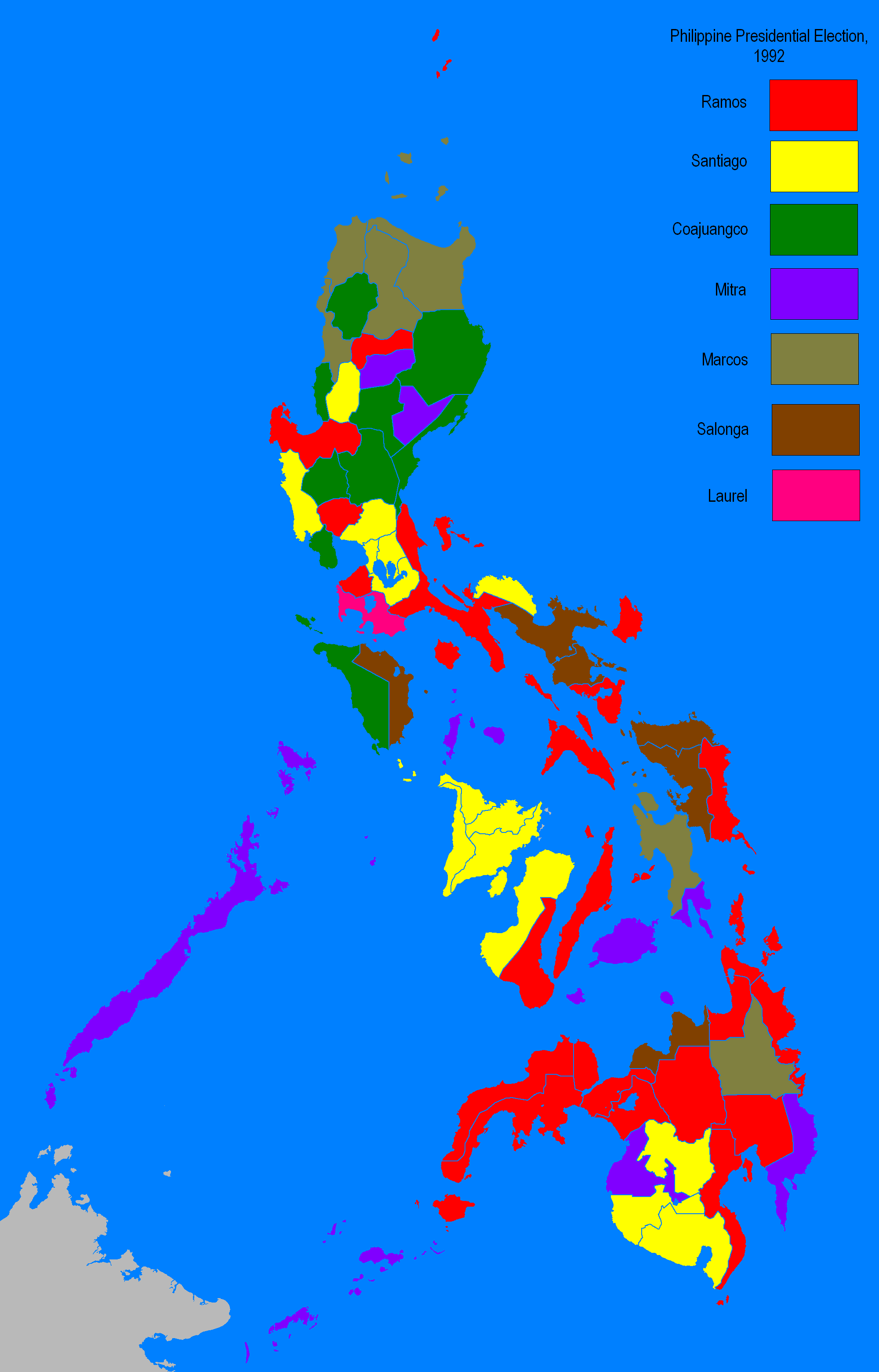 File:Philippine Election Map 1992.PNG - Wikipedia on