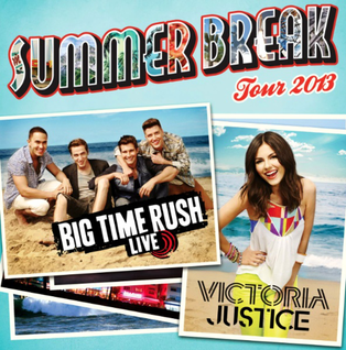 Summer Break Tour Co-headlining concert tour by Big Time Rush and Victoria Justice