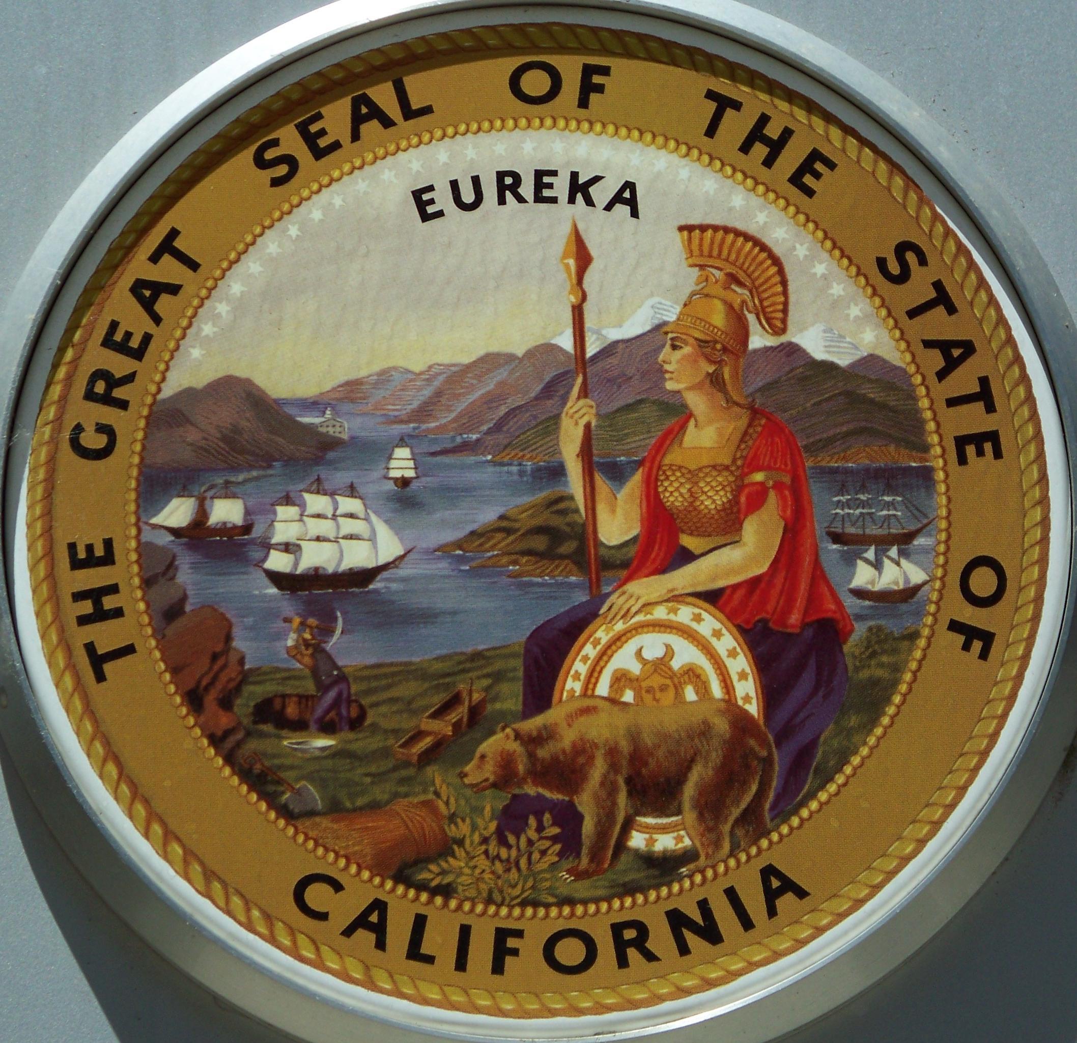 Great Seal Of California Wikipedia