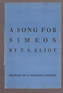 A Song for Simeon poem by T.S. Eliot