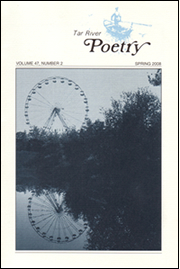 The Spring 2008 issue of Tar River Poetry. Cov...