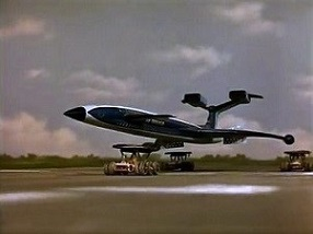 "Fireflash coming in to land on top of International Rescue's Recovery Vehicles, as seen in ""Trapped in the Sky"" TrappedSkyFireflash.jpg"