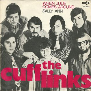 Image result for when julie comes around cufflinks single image