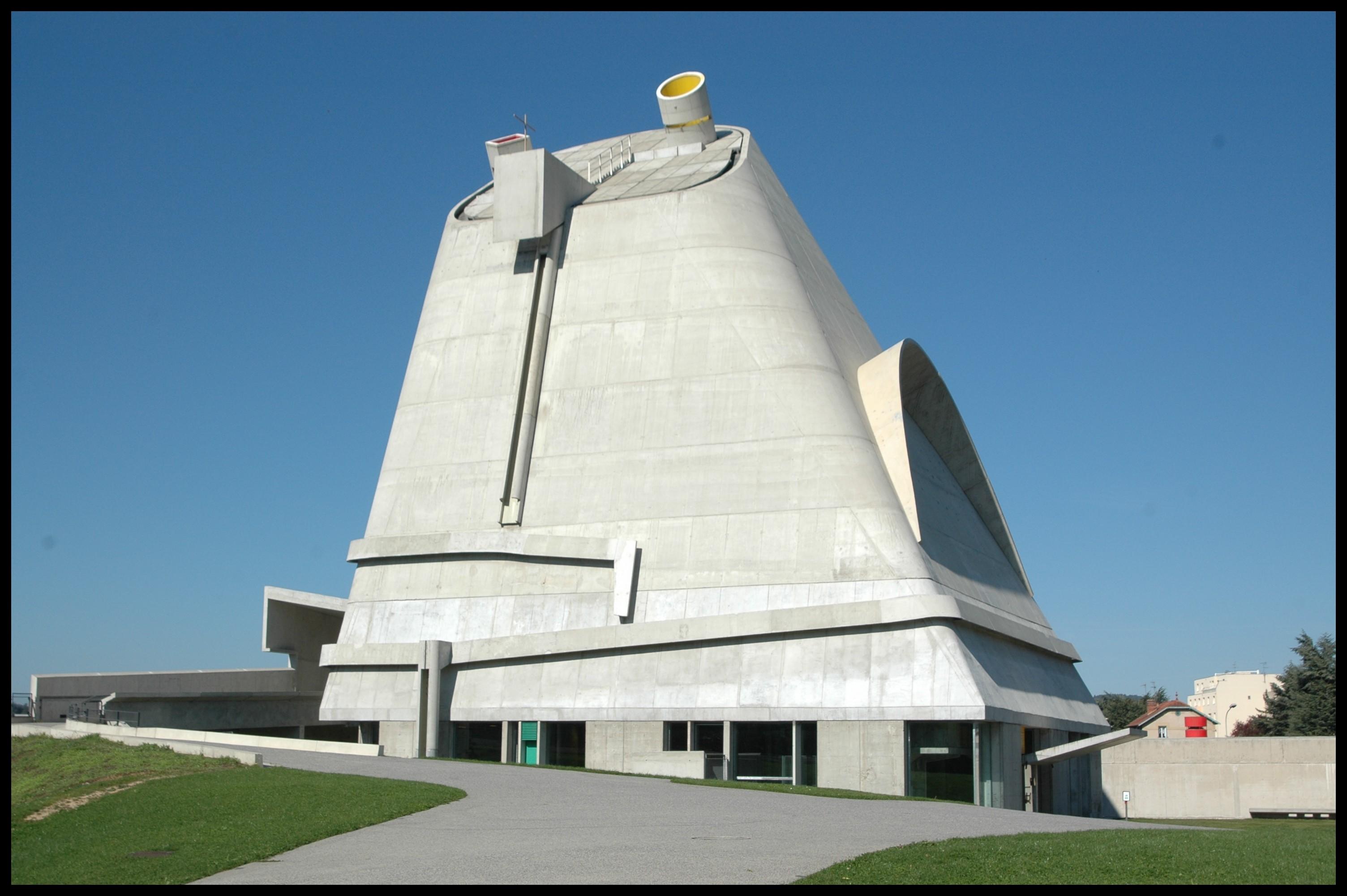 Saint pierre firminy for Le architecte