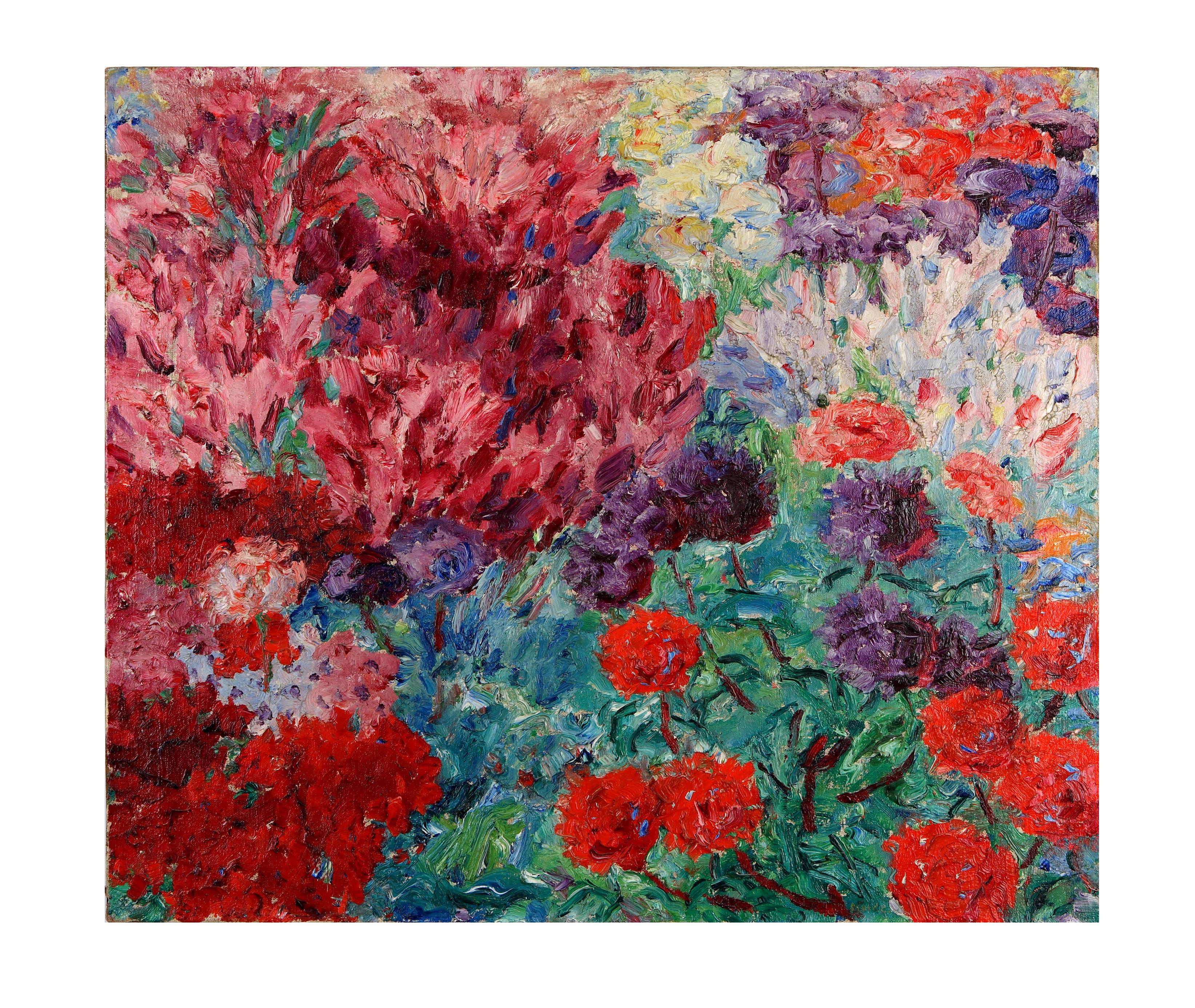 Blumengarten Bilder file emilnolde blumengarten ohne figur 1908 jpg