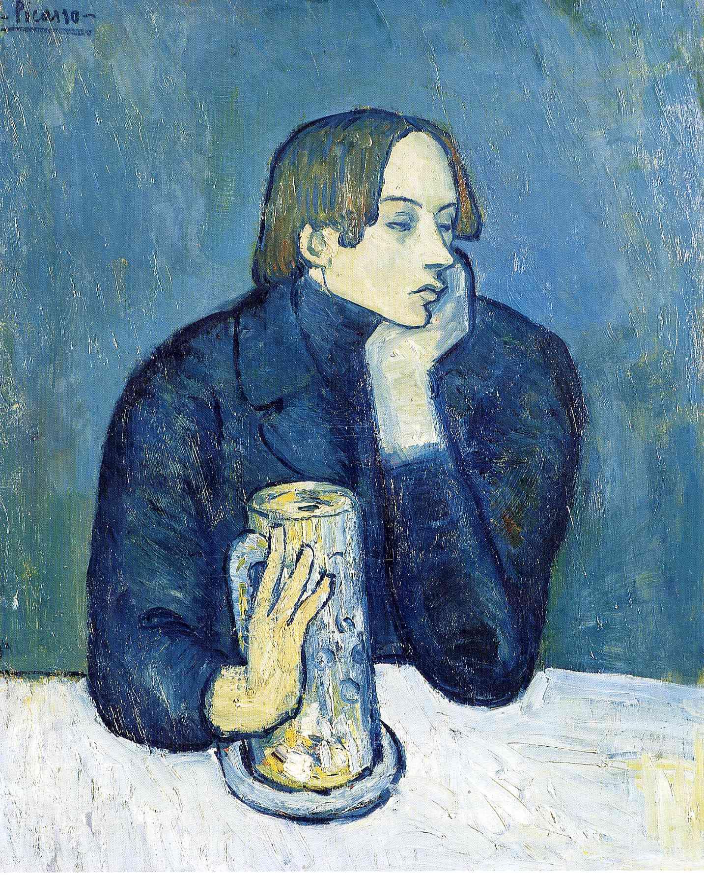 File:Pablo Picasso, 1902, Le Bock (Portrait De Jaime