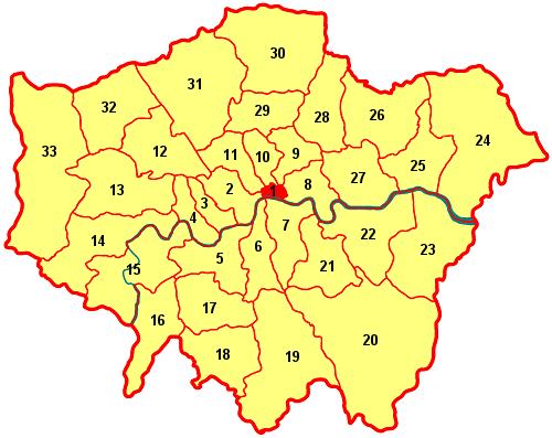 London Border Map.Portal Talk London Archive 1 Wikipedia