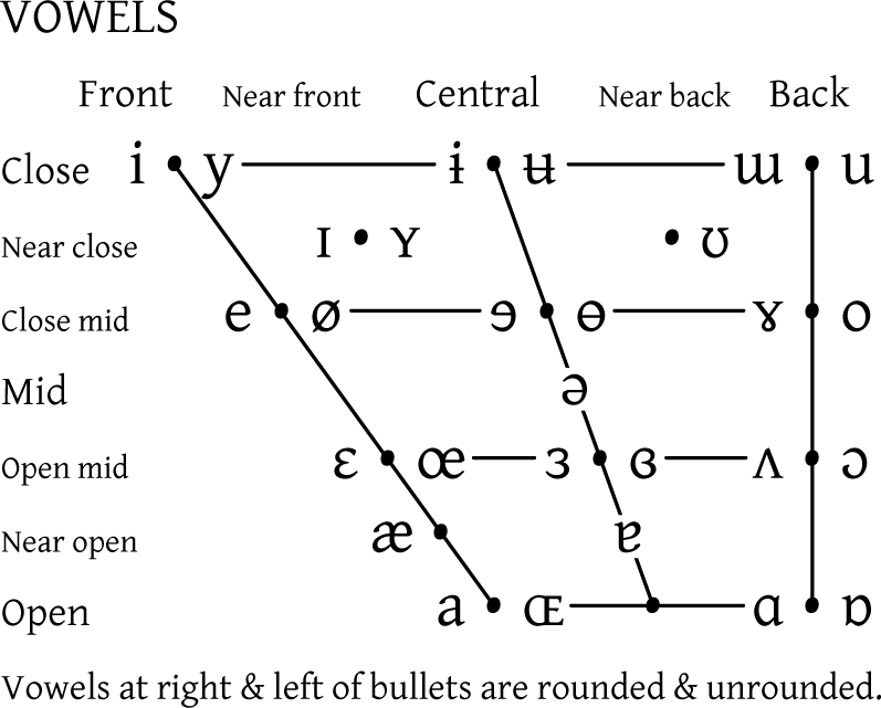 ipa vowels wikipedia
