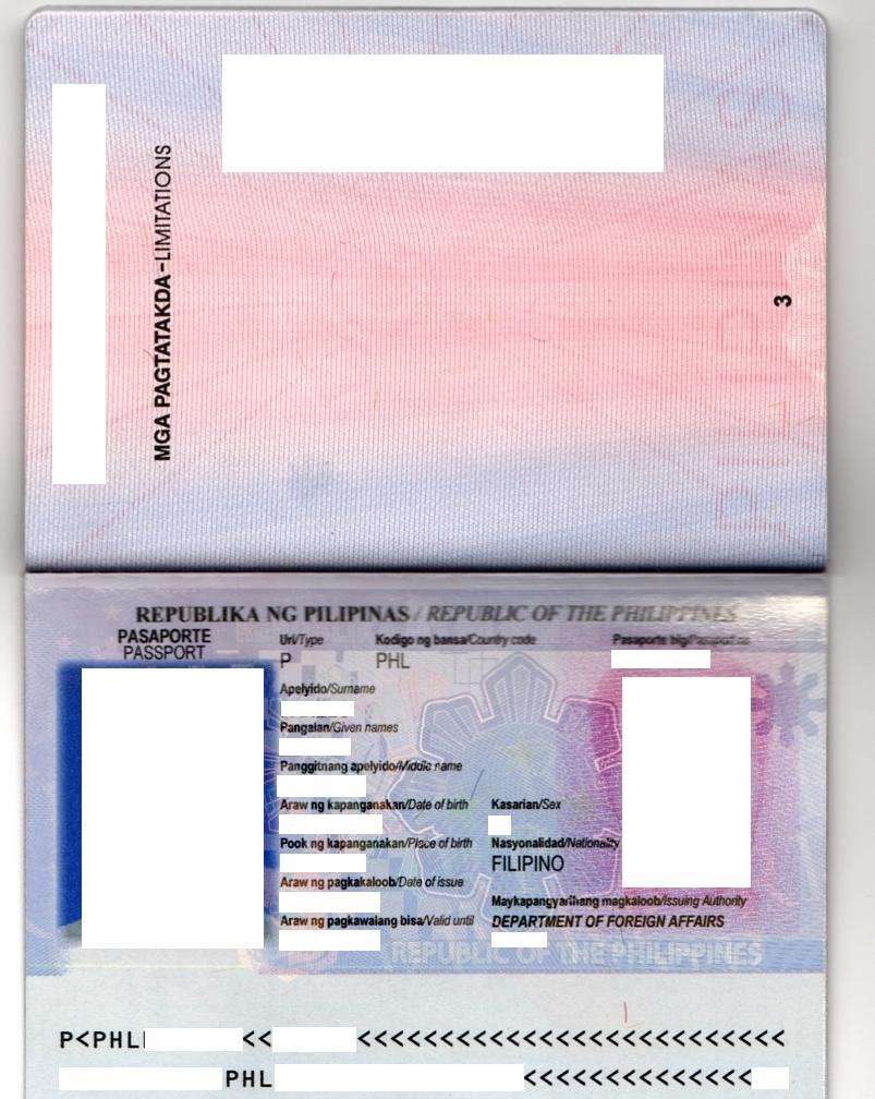 Stunning Passport Template Contemporary - Example Resume and ...