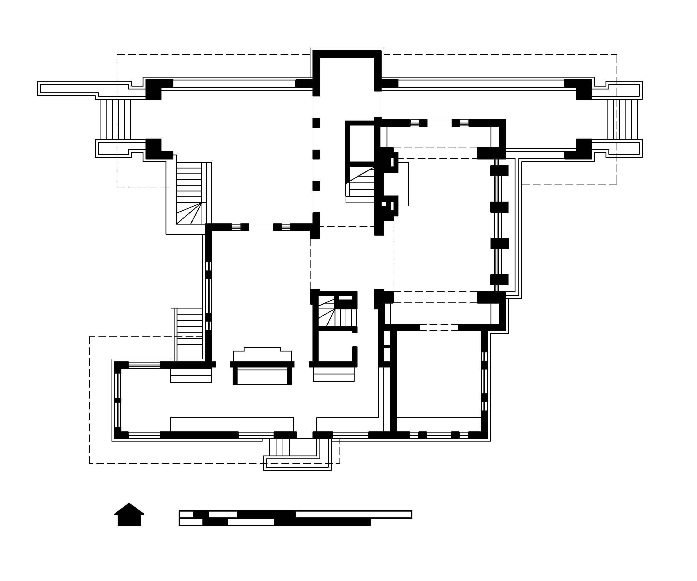 file hills decaro house first floor plan jpg wikipedia