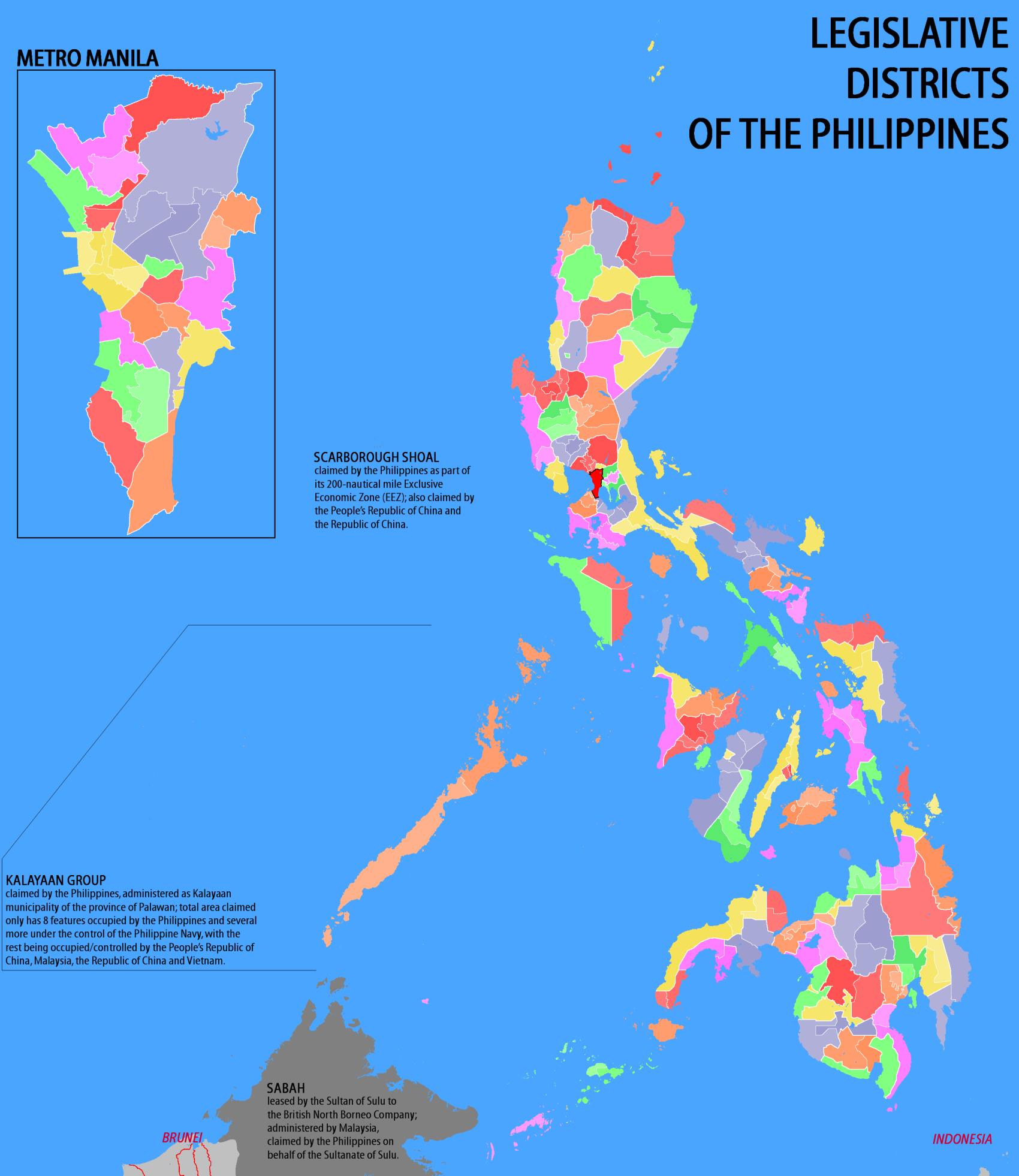 File:Legislative districts of the Philippines - May 2007 (coloured ...
